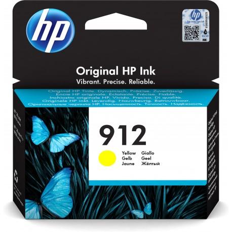 HP Tinteiro Original 912 Amarelo, Cartucho de Tinta - 0192545866798