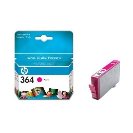 HP Tinteiro Original 364XL Magenta de Elevado Rendimento, Alta Capacidade, Rendimento Alto (XL), Cartucho de Tinta - 0883585706051