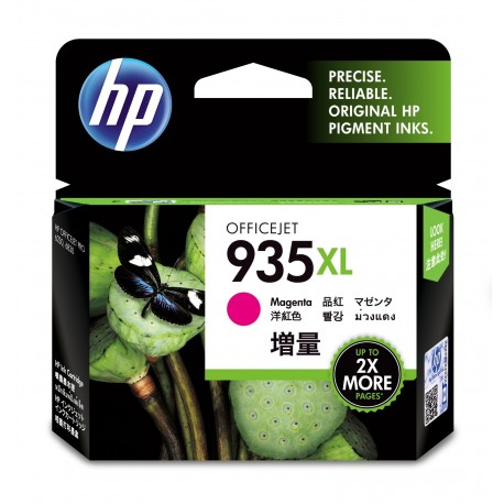 HP Tinteiro Original 935XL Magenta de Elevado Rendimento, Alta Capacidade, Rendimento Alto (XL), Cartucho de Tinta - 0888182031728