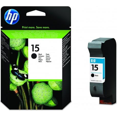 HP Tinteiro Original 15 Preto de Alta Capacidade, Cartucho de Tinta - 0884962825884