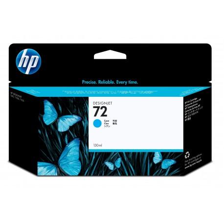 HP Tinteiro DesignJet 72 Original Ciano de 130 ml, Alta Capacidade, Rendimento Alto (XL), Cartucho de Tinta - 0808736779784