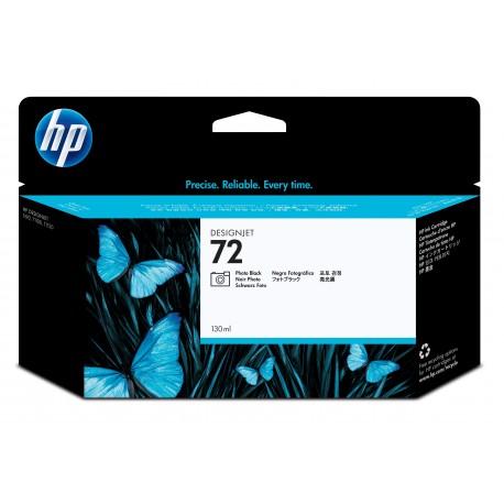 HP Tinteiro DesignJet 72 Original Preto Fotográfico de 130 ml, Alta Capacidade, Rendimento Alto (XL), Cartucho de Tinta - 0808736779760