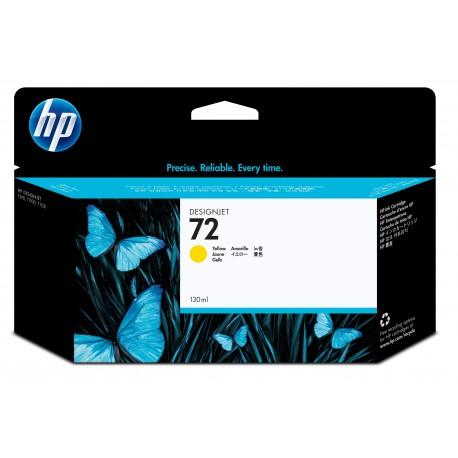 HP Tinteiro DesignJet 72 Original Amarelo de 130 ml, Alta Capacidade, Rendimento Alto (XL), Cartucho de Tinta - 0808736779821