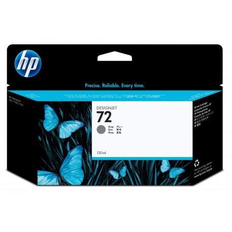 HP Tinteiro DesignJet 72 Original Cinzento de 130 ml, Alta Capacidade, Rendimento Alto (XL), Cartucho de Tinta - 0808736779845