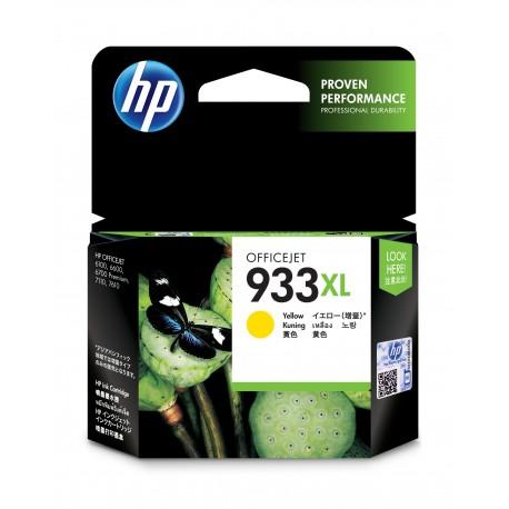 HP Tinteiro Original 933XL Amarelo de Elevado Rendimento, Alta Capacidade, Cartucho de Tinta - 0886111749096