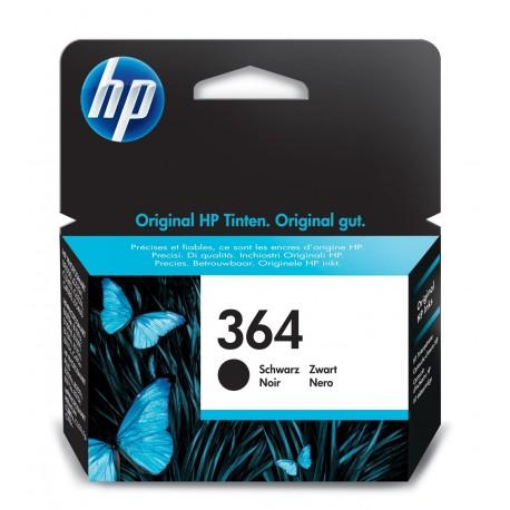 HP Tinteiro Original 364 Preto, Cartucho de Tinta - 0883585705092