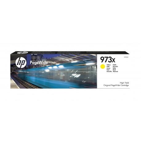 HP Consumível PageWide Original 973X Amarelo de Elevado Rendimento, Alta Capacidade, Cartucho de Tinta - 0889296544685