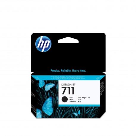 HP Tinteiro Original DesignJet 711 Preto de 38 ml, Cartucho de Tinta - 0886112890667