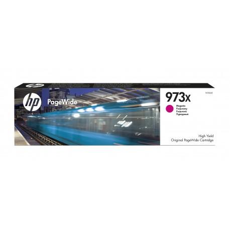 HP Consumível PageWide Original 973X Magenta de Elevado Rendimento, Alta Capacidade, Cartucho de Tinta - 0889296544678