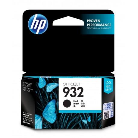 HP Tinteiro Original 932 Preto, Cartucho de Tinta - 0886111749058
