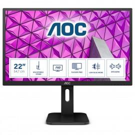 Monitor Profesional Aoc 22p1d 21.5' Full Hd Multimedia Negro - 4038986126304