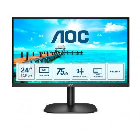 "AOC B2 24B2XDM Monitor, 60,5 cm, 23.8"", Full HD, LCD, Preto - 4038986149617"