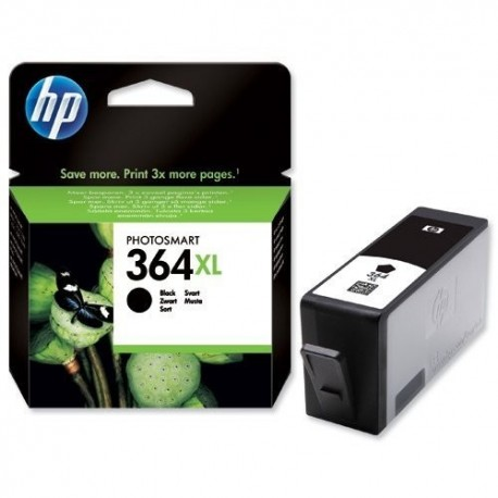 HP 364XL Tinteiro Original Alta Capacidade, Foto, Fotografia, Preto, Cartucho de Tinta - 0883585705818