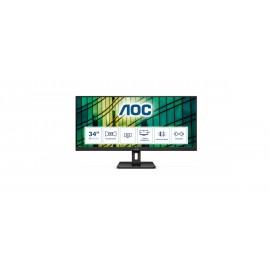 Monitor Ultrapanorámico Aoc Q34e2a 34' Wfhd Multimedia Negro - 4038986118378
