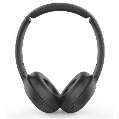 Philips TAUH202BK Auscultadores, Fita de Cabeça, Bluetooth, Chamadas e Música, Com Botão, Preto - 6951613995211