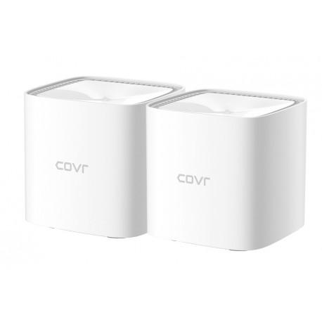 D-Link COVR-1102 Sistema Mesh 1200 Mbps, Extensor de Redes, Transmissor de Rede, 10/100/1000 Mbps, 2.4 GHz 5 GHz, Branco, Pack de 2 Unidade(s) - 0790069449963