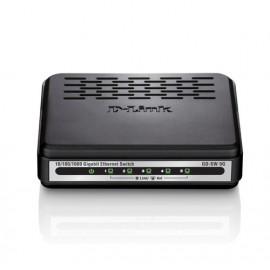 Switch D-link Go-sw-5g 5 Puertos Rj-45 10 100 1000 - 0790069365676