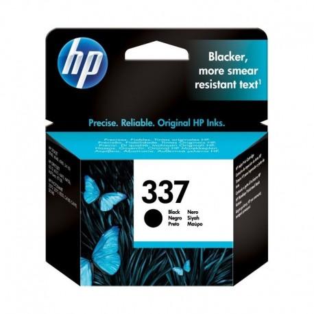 HP 337 Black Inkjet Print Cartridge with Vivera Ink, Tinteiro Original, Preto, Cartucho de Tinta - 0829160799056