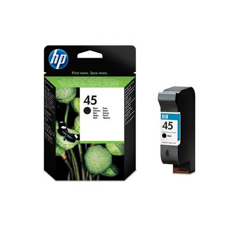 HP Tinteiro Original 45 51645AE Preto de Elevado Rendimento, Cartucho de Tinta XL Alta Capacidade - 0088698603659