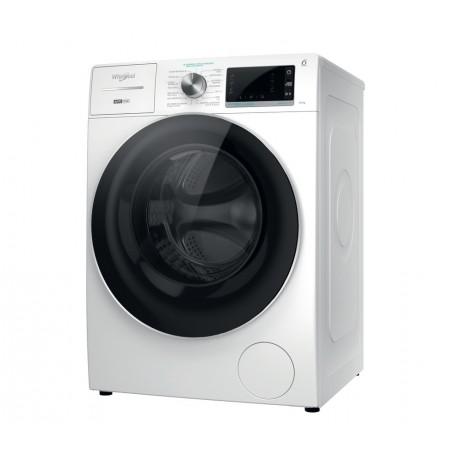 WHIRLPOOL W8 W046WR SPT Máquina de Lavar Roupa, de Livre Instalação, Entrada Frontal, 10 Kg, 1400 RPM, Branco