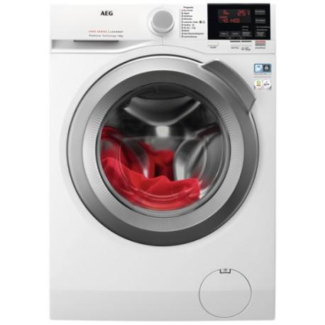 AEG L6FEG842P Máquina de Lavar Roupa, de Livre Instalação, Entrada Frontal, 8 Kg, 1400 RPM, Branco - 7332543803248