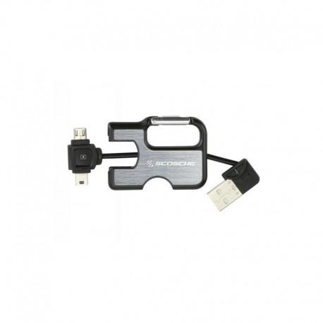 Scosche clipSYNC keychain USB Mini/micro USB - 0033991032279