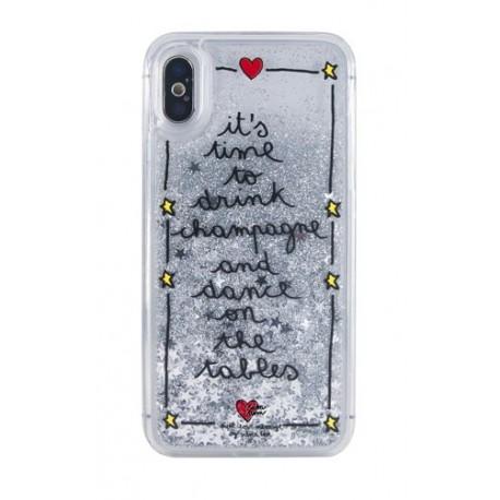Silvia Tosi Liquid Case iPhone X/XS Champagne